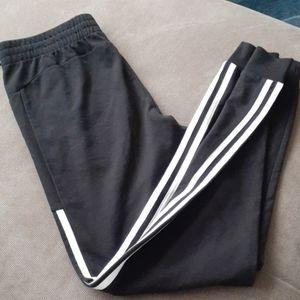 Adidas new joggers sweatpants black kids XL